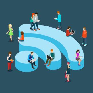 WiFi draadloos internet overal